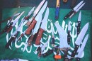 Knives Used by Passengers Aboard the Mavi Marmara