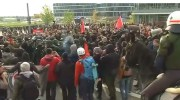 Leftwing, anti AfD rally in Stutgart