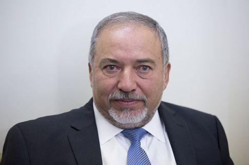 Yisrael Beytenu party chairman Avigdor Liberman.