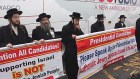 Neturei Karta Demonstrators