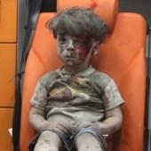 Omran Daqneesh, a 5-year old Syrian boy