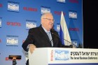 President Reuven Rivlin speaking at the Globes Israel Business Conference, Sunday, 12/11/2016