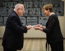 President Reuven Rivlin with incoming Chilean ambassador to Israel H.E Mrs. Monica Jimenez De La Jara