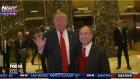 President-elect Donald Trump and Softbank CEO Masayoshi Son at Trump Tower, December 6, 2016.