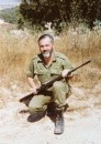 Rav Kahane on reserve duty 1983