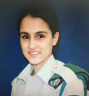 "Hadar  Cohen (HY""D). She was 19 years old when killed by a terrorist near Damascus Gate"