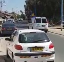 Sderot during the missile attack
