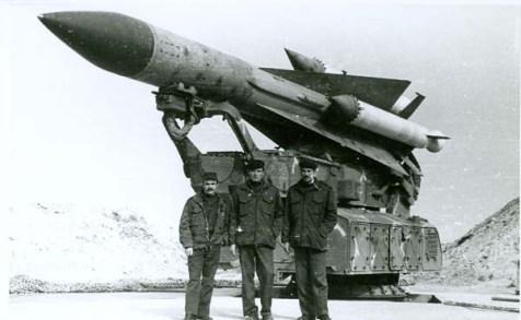 Soviet S-200 missile
