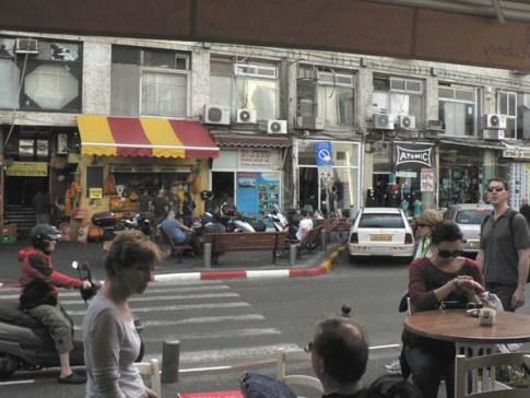 Street scene Tel Aviv
