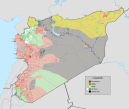 The current military situation in Syria.  (May 2016)