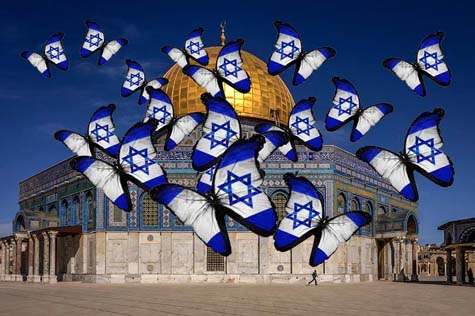 Temple mount flags 2