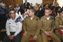 The Israeli soldier who shot a terrorist last Thursday in Hebron was in court Tuesday. / Pool