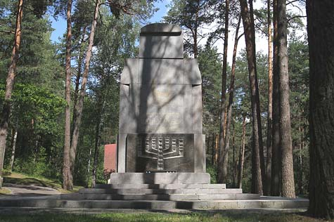 The memorial to the Holocaust at Ponar. / Courtesy. Photo credit: Ezra Wolfinger, Nova