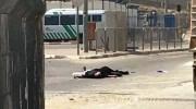 The two Qalandiya terrorists on the ground.