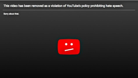 YT removed