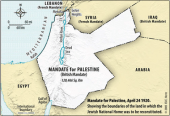 British Mandate Map