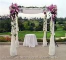 A Chuppah awaiting a Chatan and Kallah