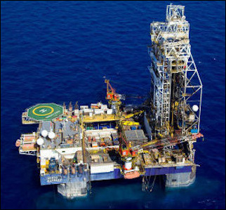 """A Tamar field oil rig. One of the most important economic developments in Israel's history has taken place in the last few years with the discovery of the substantial Tamar and Leviathan fields of natural gas off the Mediterranean coast. But instead of celebrating the windfall, Israelis have characteristically turned the bonanza into a tug-of-war between socialist aspirations and so-called """"gas tycoons."""""""
