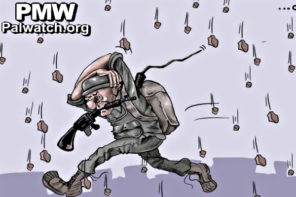 incitemnt-rocks-on-IDF-cartoon