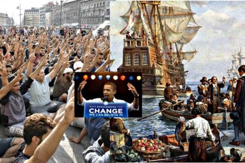 Mayflower Pilgrims, Obama and Syrian refugees.