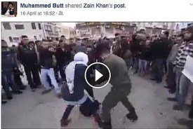 Anti-Israel clip shared on FB page of UK Labour politician Muhammed Butt
