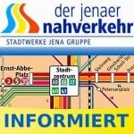 """""""JeNah informiert"""": Ein Fremdkörper in der Schiene könnte am Montag die Entgleisung der Straßenbahn am Kupferhütchen verursacht haben"""