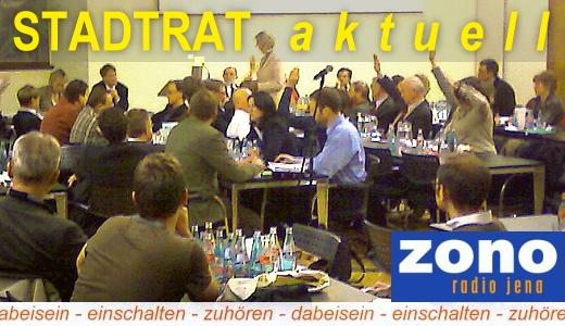 JEZT - ZONO Radio Jena - STADTRAT aktuell Teaser