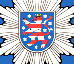 JEZT - Das Wappenemblem der Thueringer Polizei - Abbildung © MediaPool Jena