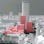 """""""Fünf Baufelder mit drei Hochhäusern und einem Stadtgarten"""": Der Jenaer Stadtrat stimmte dem neuen Rahmenplan """"Eichplatz / Neue Stadtmitte"""" zu"""