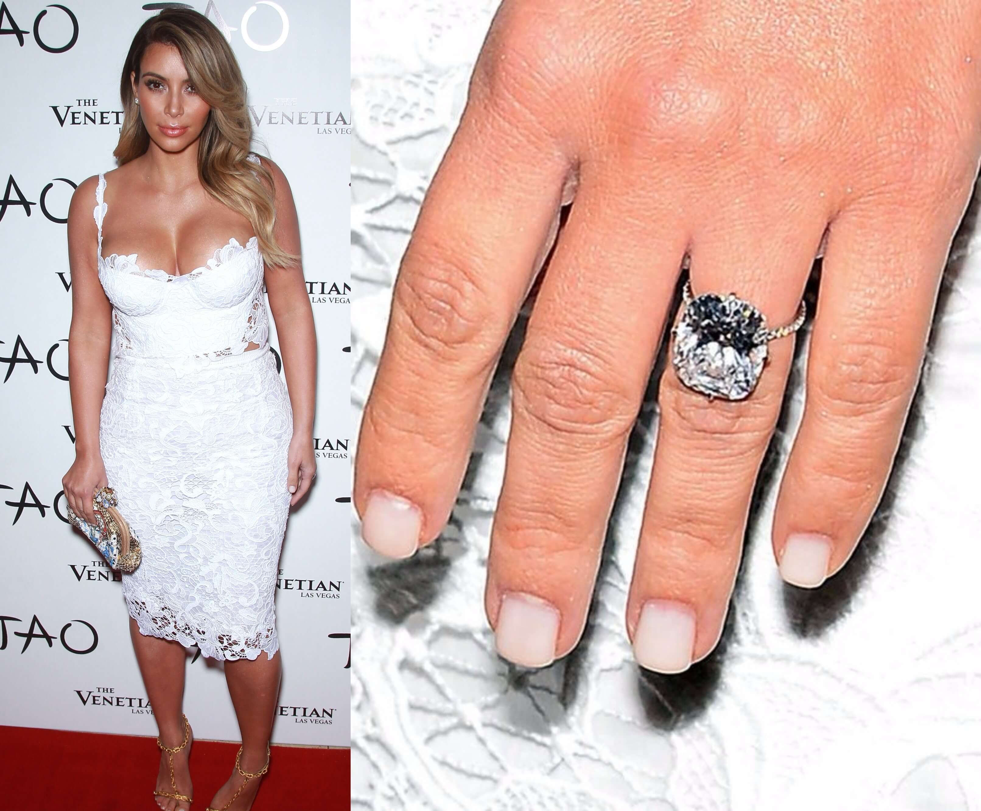 top 10 most expensive engagement rings most expensive wedding rings kim engagement ring Kanye