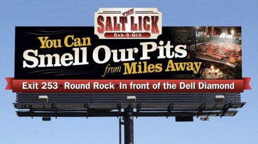 Salt Lick Billboard