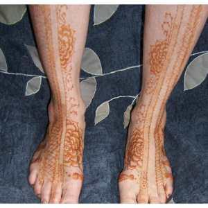 henna mehandi feet