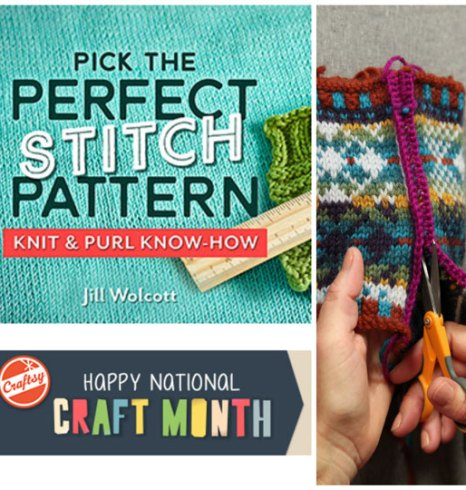 Join Jill on Craftsy: March is National Craft Month