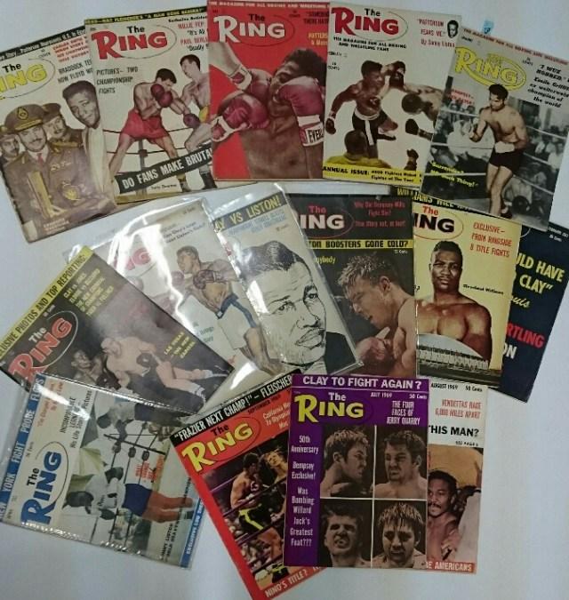 洋書ボクシング the RING 60年代 神保町ヴィンテージ 1