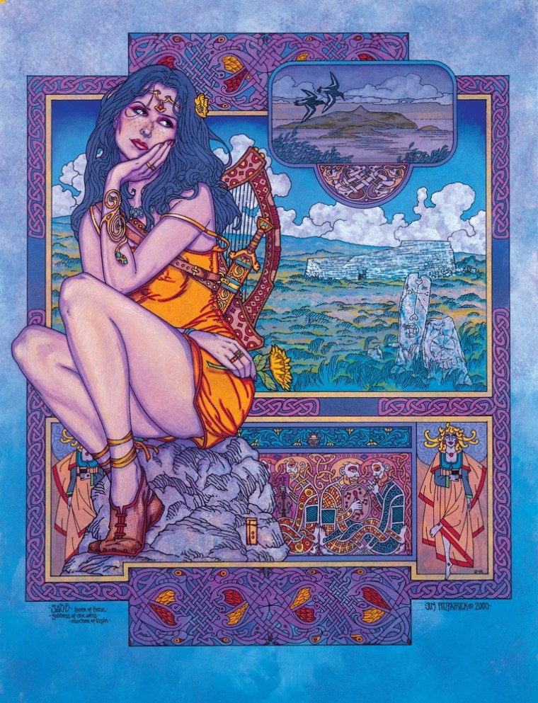 Irish myth, irish legend, irish mythology, irish, ireland, jim fitzpatrick