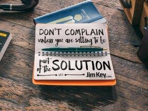 Don't Complain Unless…