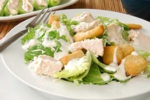 Creamy Parmesan Caesar Salad