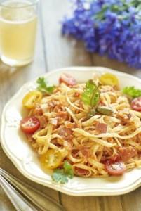 Rueben Spaghetti Salad