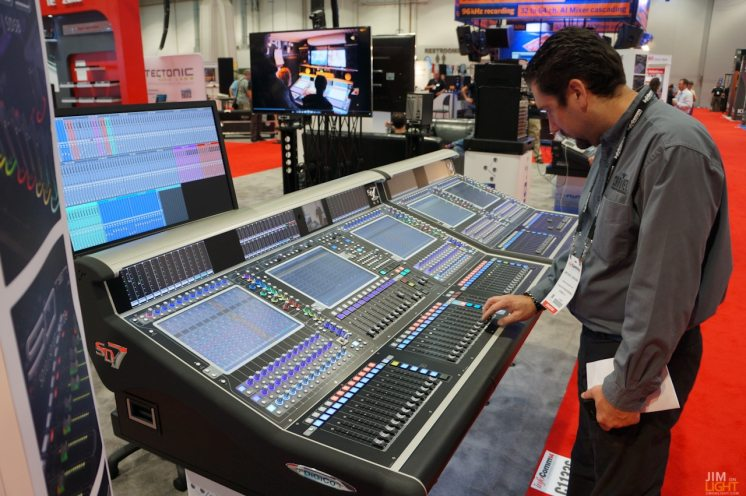 Mike Graham and the DigiCo SD-7