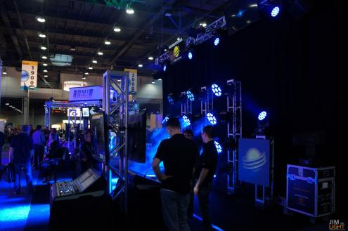 USITT 2015 Show Floor... High End Systems