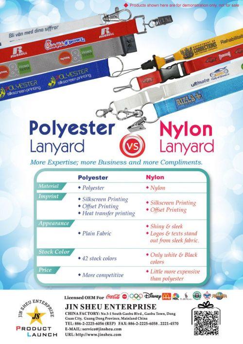 Medium Of Nylon Vs Polyester