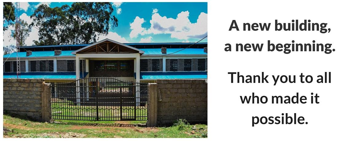 A New Building, A New Beginning