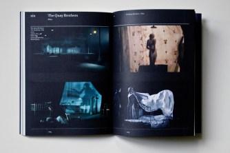 The Quay Brothers' Universum, Ausstellungskatalog, innen (II).
