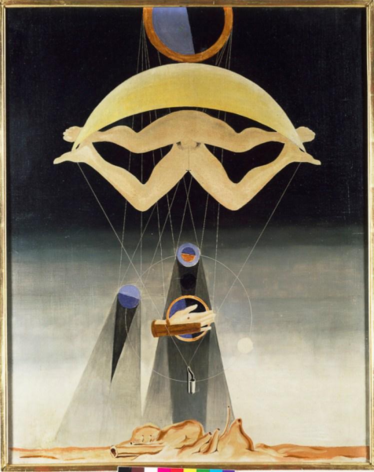 Max Ernst, Men Shall Know Nothing of This, 1923, Öl auf Leinwand, 80,3 x 63,8 cm, Tate, London, Foto: © Tate, London 2013, VG Bild-Kunst, Bonn 2014