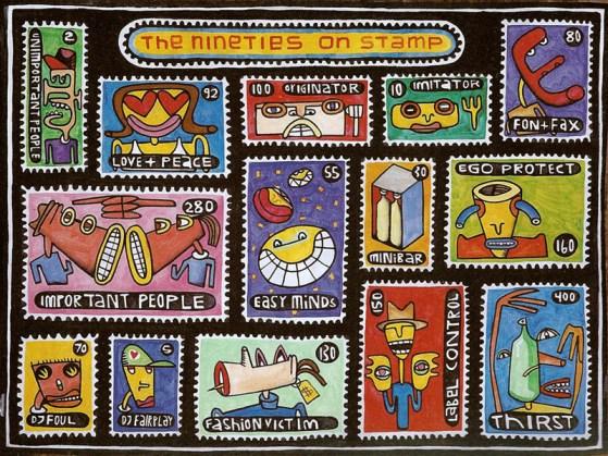 The Nineties On Stamp, 1996