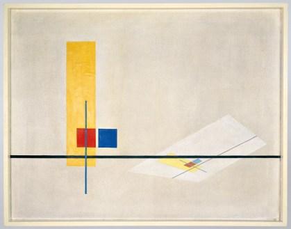 László Moholy-Nagy, Konstruktion Z I, 1922-1923 Bildnachweis: Bauhaus-Archiv Berlin, Foto: Hartwig Klappert © VG Bild-Kunst Bonn