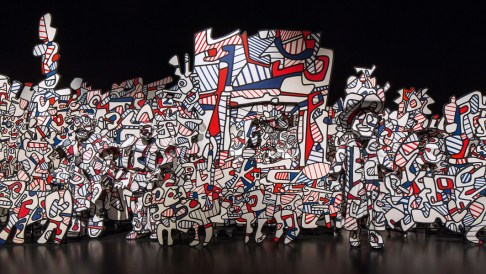 Jean Dubuffet Coucou Bazar, 1972-1973 Installationsansicht Collection Fondation Dubuffet, Paris © 2015, ProLitteris, Zürich Foto: Les Arts Décoratifs, Paris/Luc Boegly