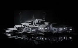 Hans Op de Beeck THE SETTLEMENT 2013 Rauminstallation (Holz und unterschiedliche Materialien) 13 x 10 x 4 m © Hans Op de Beeck