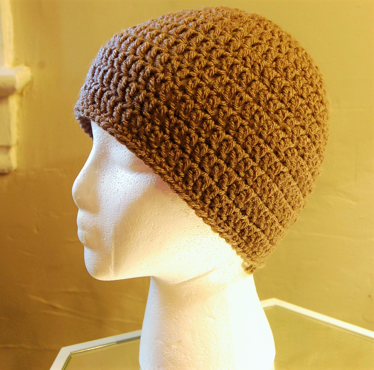 Mens Crochet Hat Pattern JJCrochet