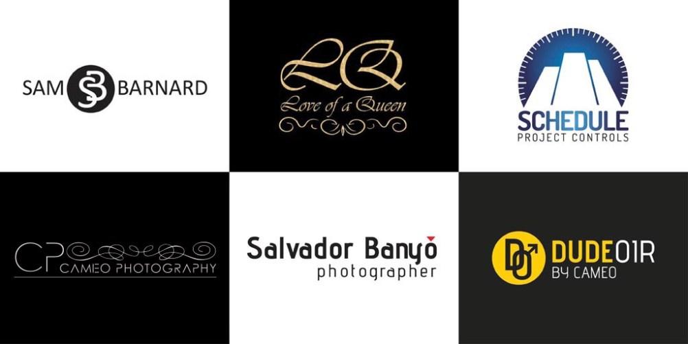logo montage - london designed logos